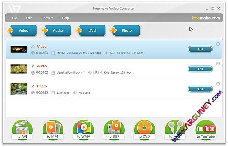 Freemake Video Converter 3.0.2.12 Portable